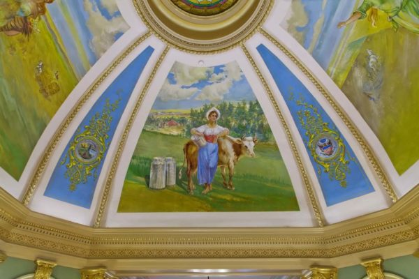 Grant County Courthouse Murals (16)