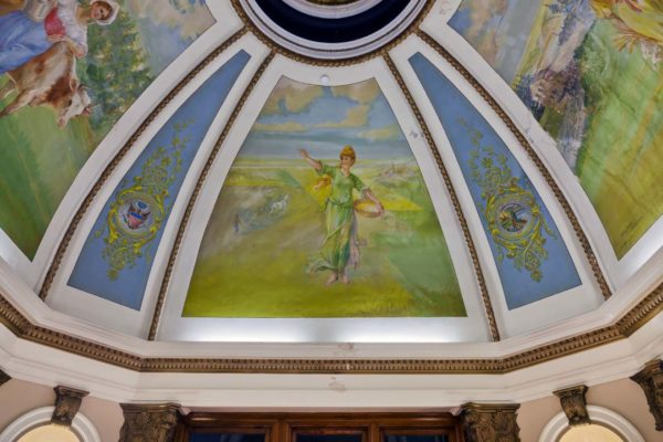 Grant County Courthouse Murals (17)