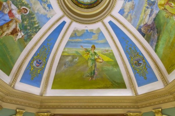 Grant County Courthouse Murals (18)