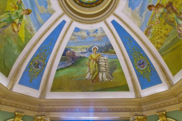 Grant County Courthouse Murals (20)
