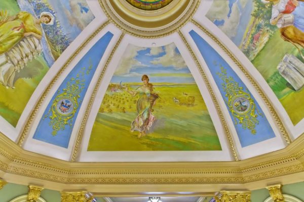 Grant County Courthouse Murals (22)