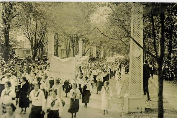 Harding Home – Social Justice Day – 1920