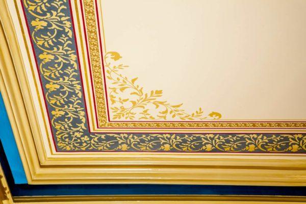 Villa Detail – Parlor Ceiling